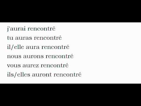 Conjugation rencontrer | Conjugate verb rencontrer French | Reverso Conjugator