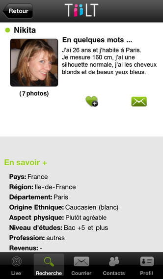 application site de rencontre gratuit