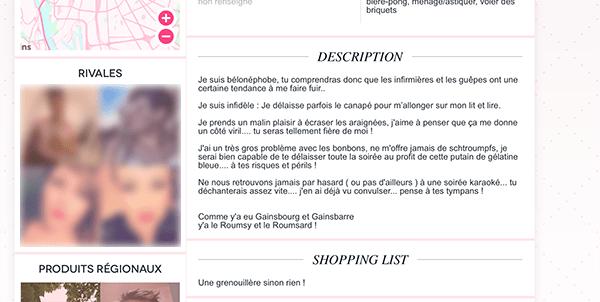 exemple de presentation dans un site de rencontre cite de rencontre maroc