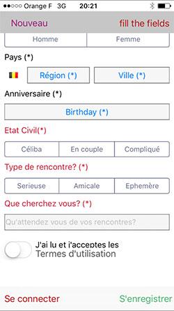 site de rencontre belge sur iphone