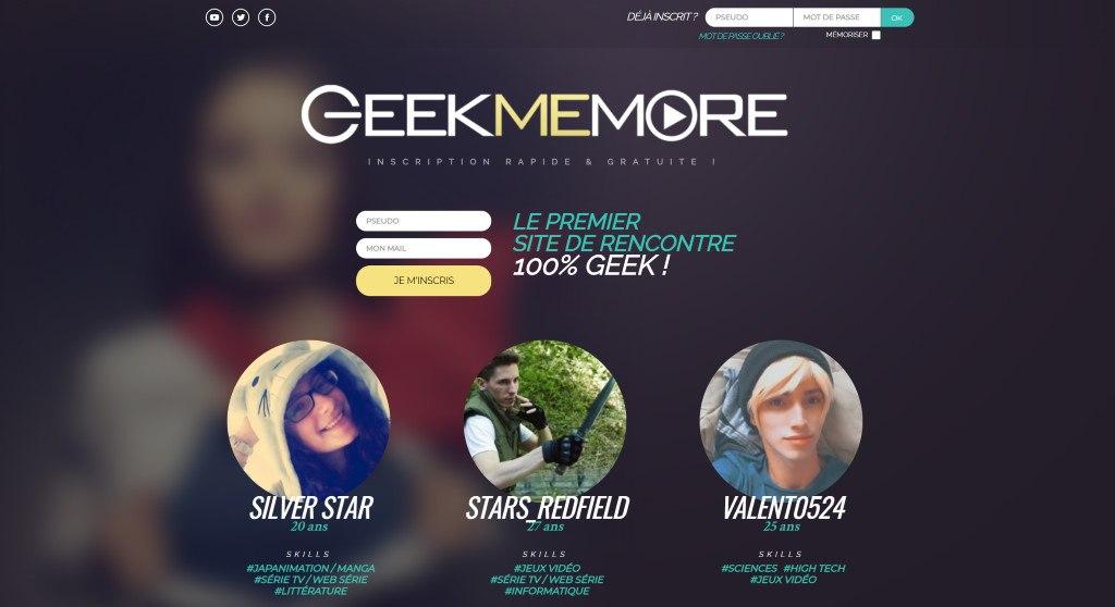 site de rencontre pour geek gratuit