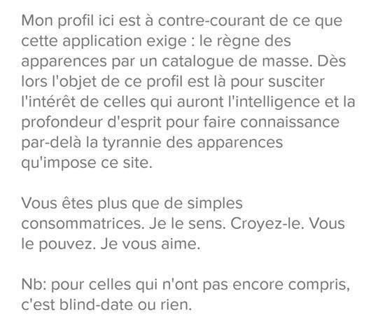 comment faire sa description sur un site de rencontre recherche d une femme camerounaise