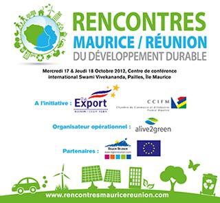 Les 1res rencontres Maurice-Réunion du développement durable en octobre