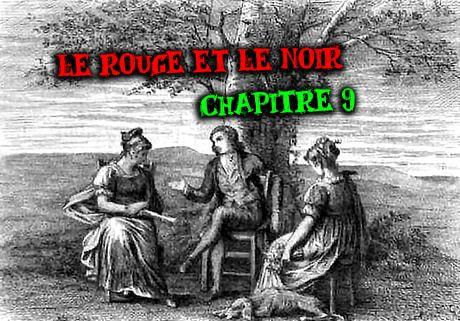 Le Rouge et le Noir, Stendhal, chapitre 6 : la rencontre amoureuse