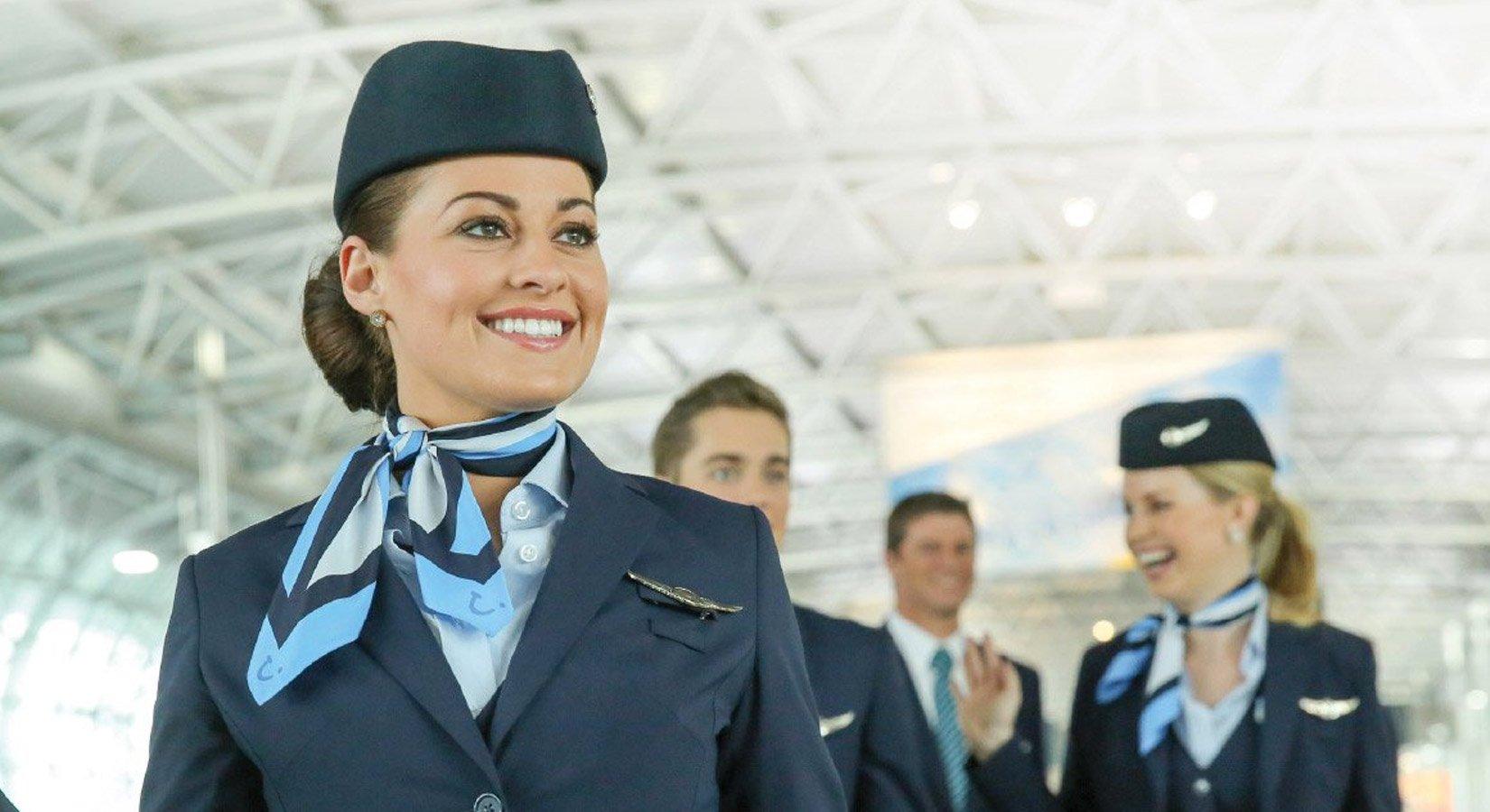 Formation hôtesse de l'air et steward