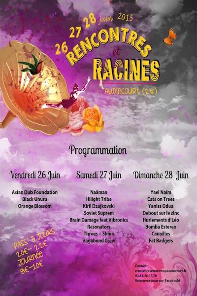 Audincourt : tout savoir du festival Rencontres et Racines 2018