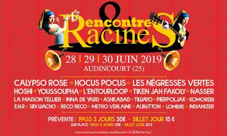 Festival Rencontres Et Racines - Audincourt : liste des concerts, informations